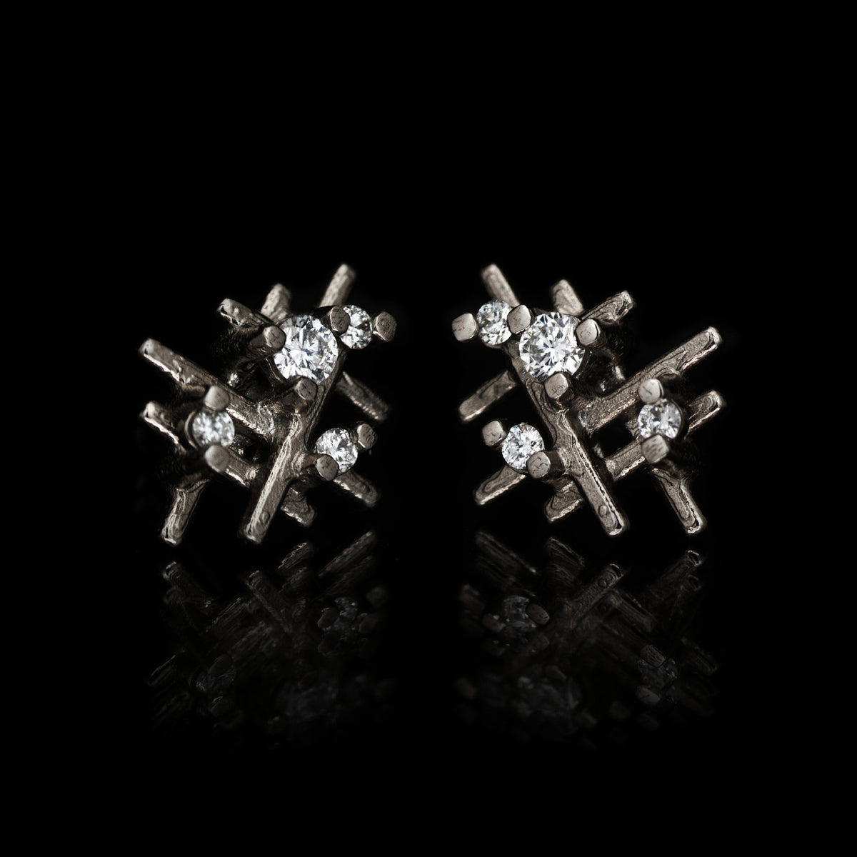 Algorithm Stud Earrings