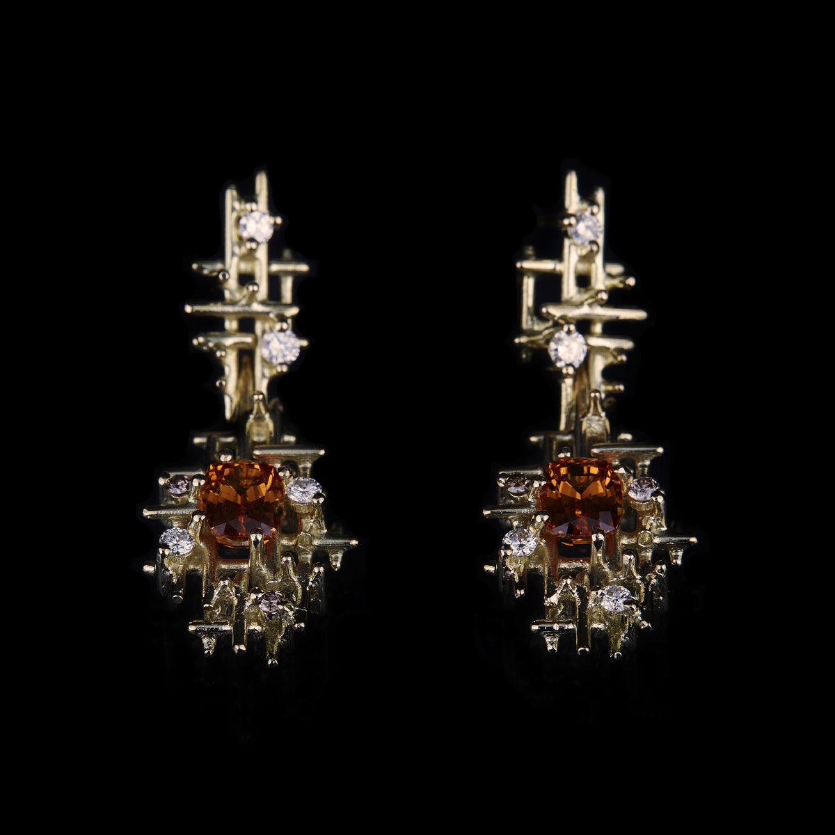 Algorithm Drop Earrings