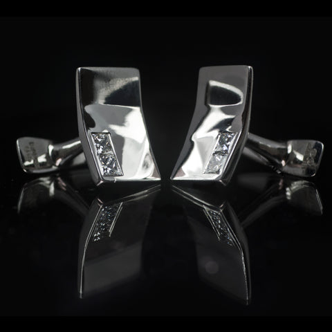 Deco Crease Cufflinks