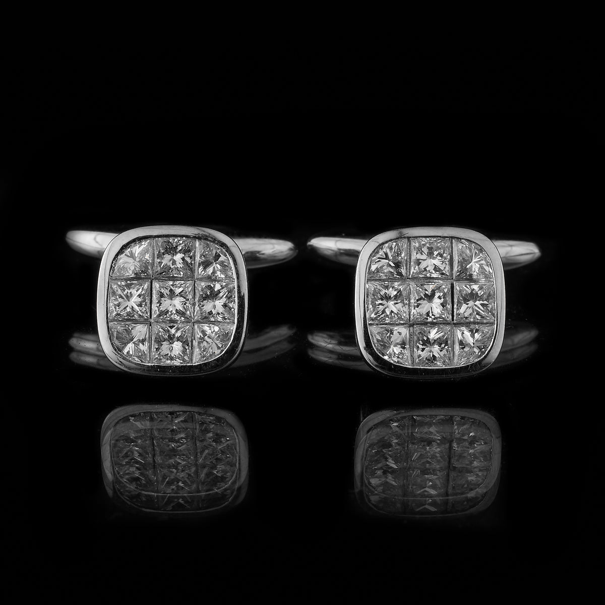 Diamond Deco Cufflinks