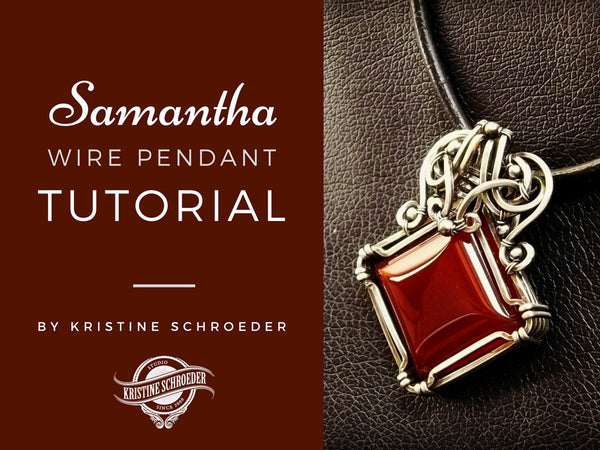 Samantha Wire Pendant Tutorial