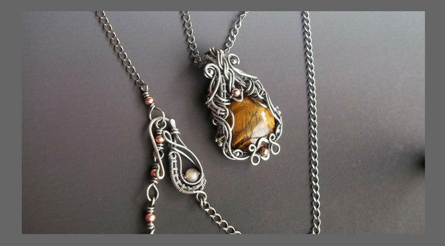 handcrafted sterling silver necklaces from Kristine Schroeder Studio