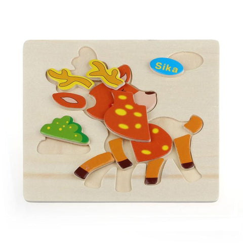 Wooden Sika Puzzle