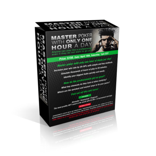 Master Poker In 1 Hour A Day