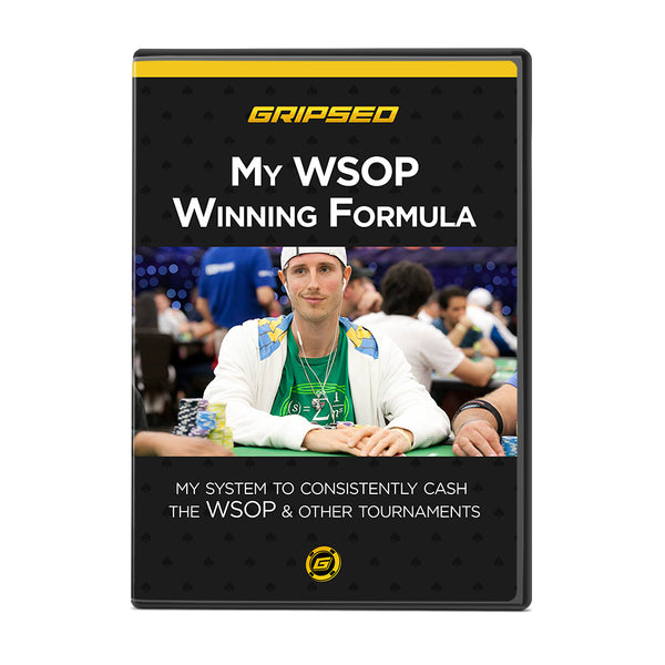My WSOP Winning Formula