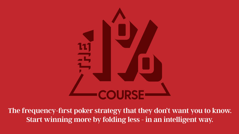 The One Percent (Poker Course)