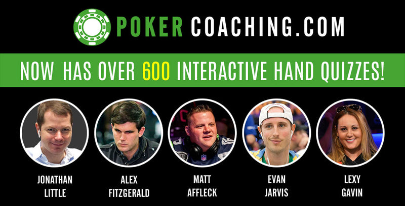 PokerCoaching 1-Year Membership
