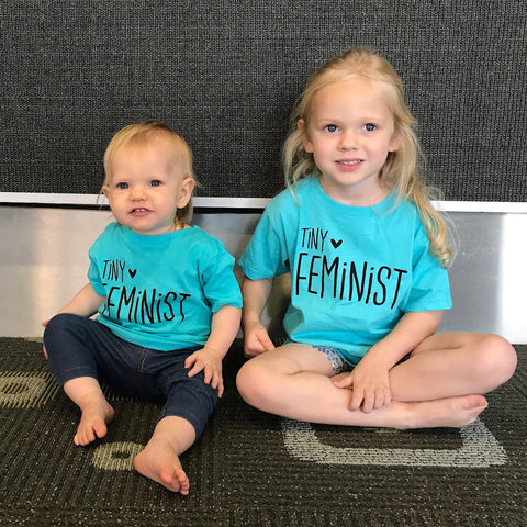 Tiny feminist Matching Shirts