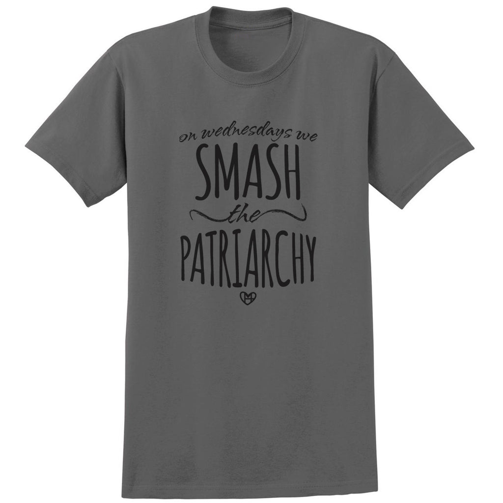 Wednesdays We Smash Patriarchy Shirt