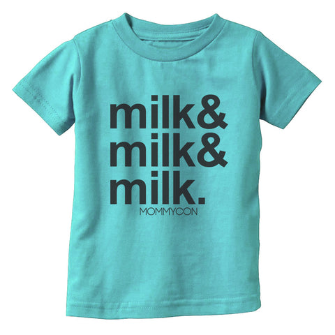 MILK MILK & MILK Aqua Children's Shirt