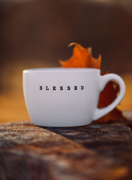 """Blessed"" Coffee Mug"