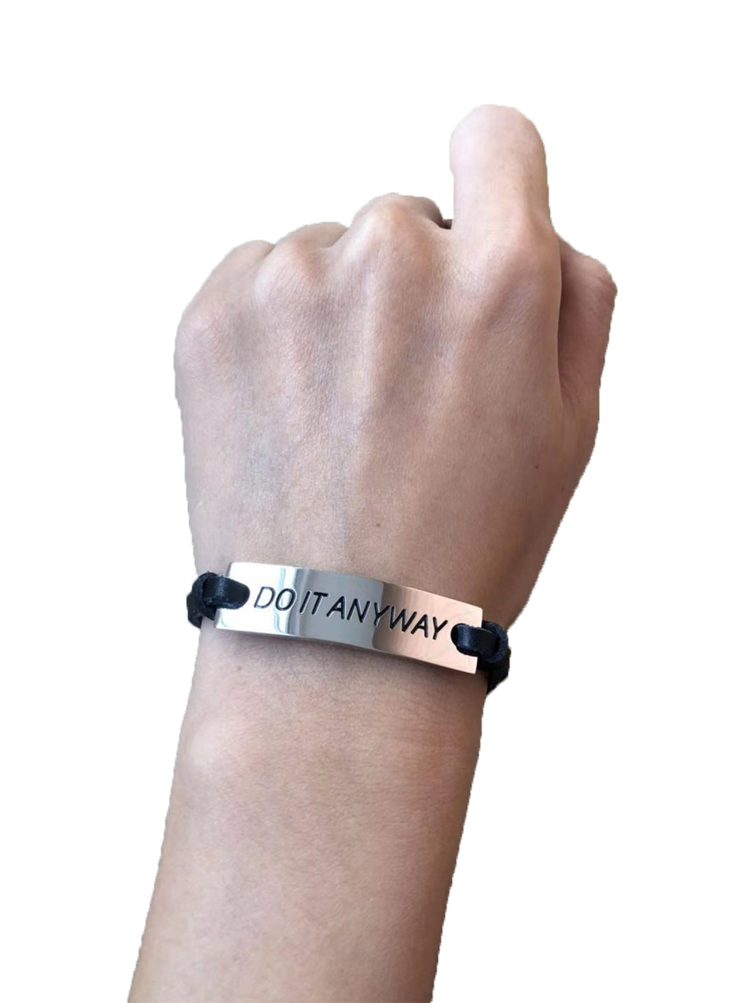 """Do It Anyway"" Bracelet"
