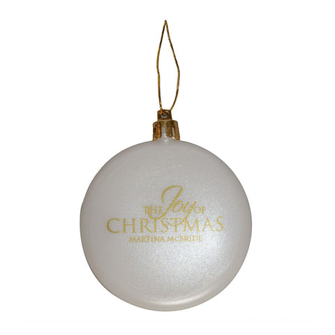 The Joy of Christmas Ornament