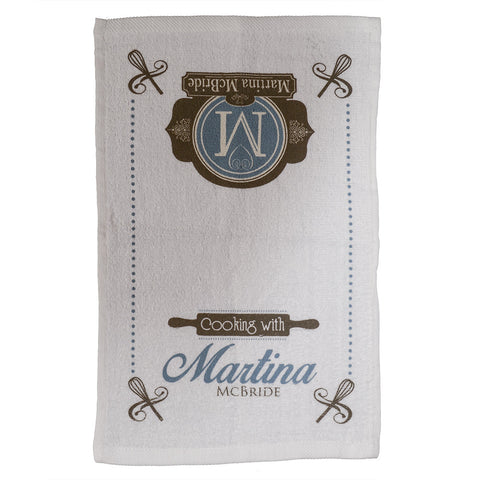 Cooking with Martina Kitchen Towel