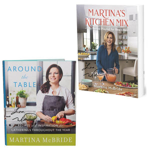Autographed Cookbook Set