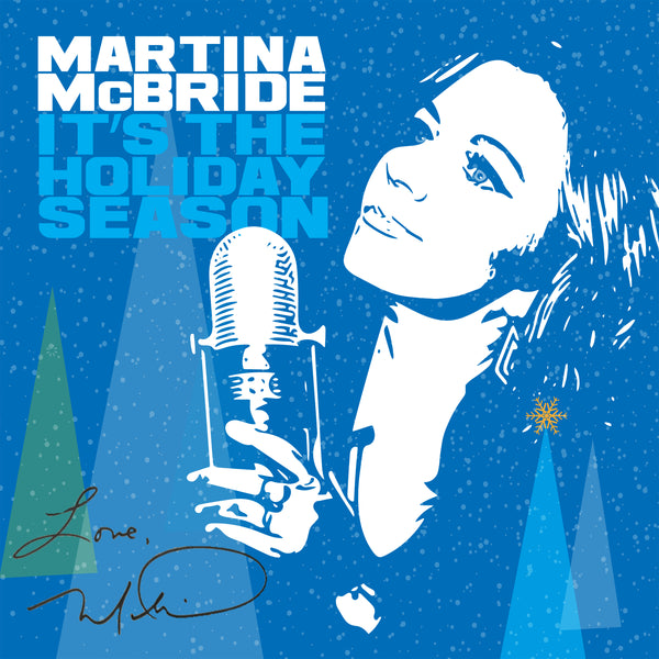 "Autographed ""It's The Holiday Season"" CD or Vinyl"