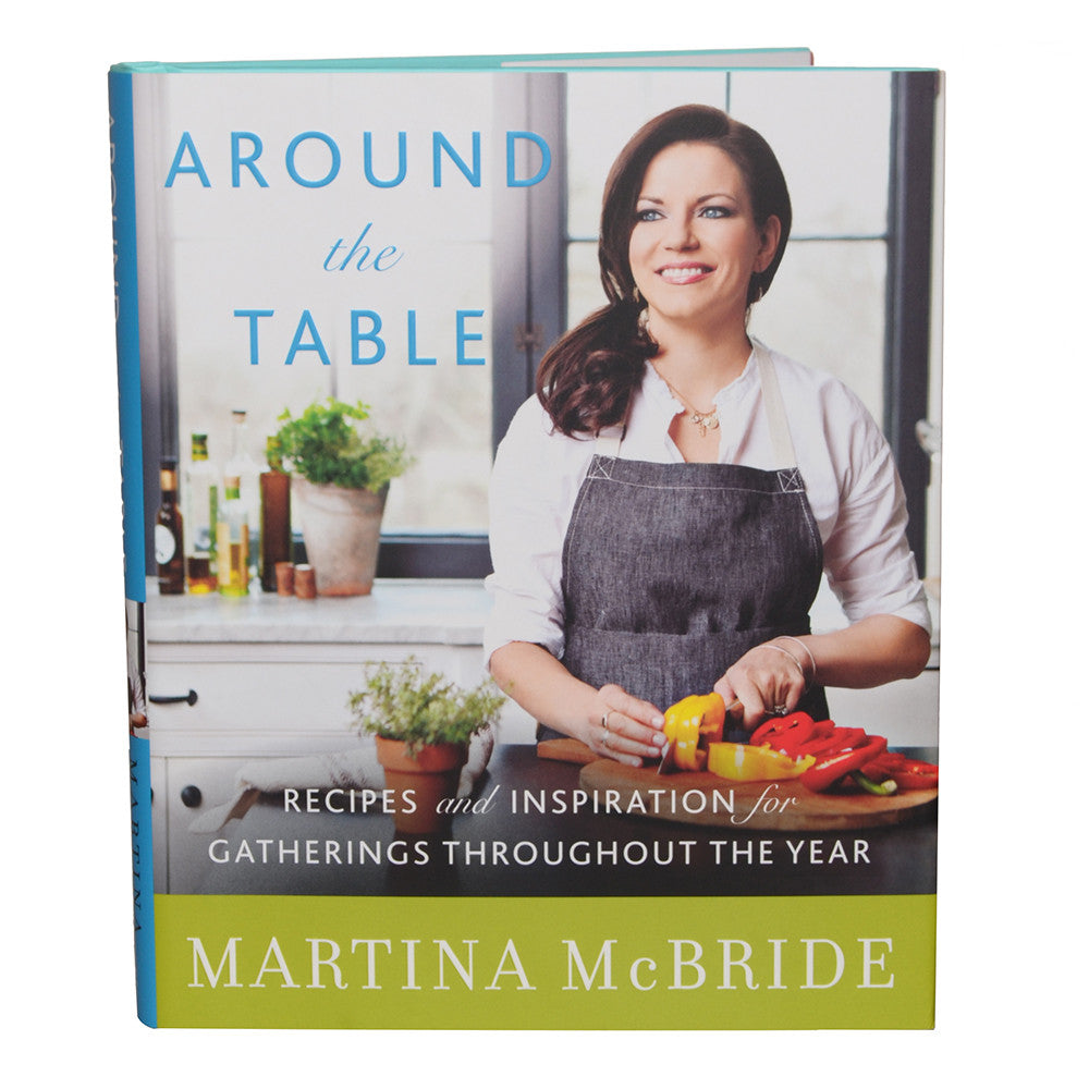 "Autographed ""Around the Table"" Cookbook"