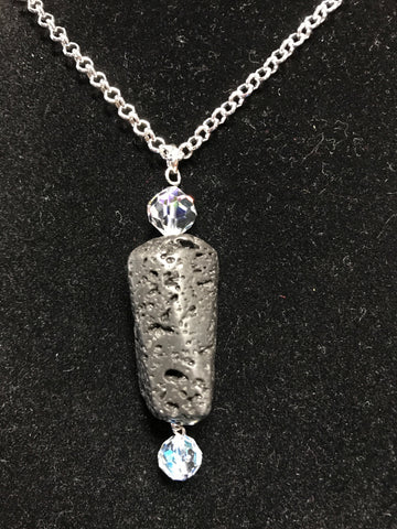 Lava Stone Essential Oil Necklace