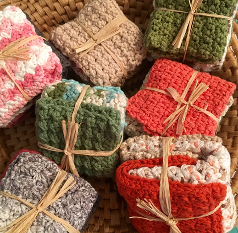 100% Cotton Washcloth Gift Set