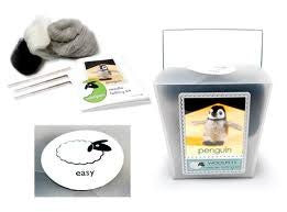 WoolPets Needle Felting Kit - Penguin