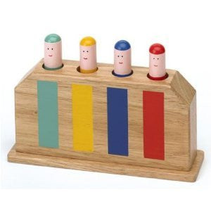 Original Toy Classic Pop Up Wooden Toy