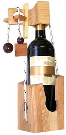 Family Games Don't Break the Bottle Original Wine Puzzle Gift for Adults