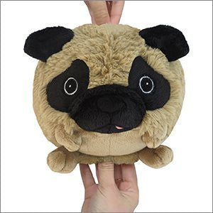 "Squishable Mini Pug - 7"" Plush"