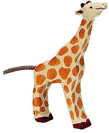 Holztiger Baby Giraffe Solid Wood Toy