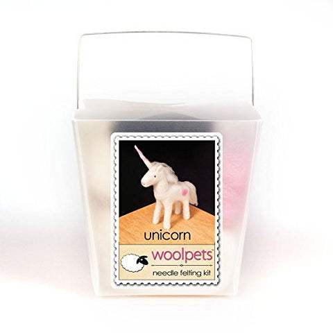 WoolPets Intermediate Needle Felting Kit - Unicorn