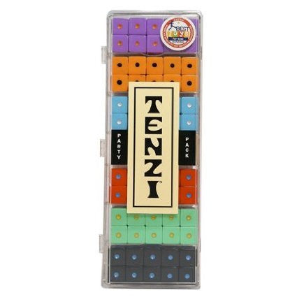 Tenzi Party Pack Dice Game - Colors May Vary