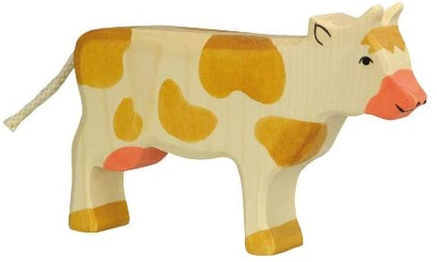 Holztiger Wooden Cow - Standing