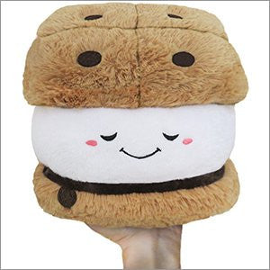 "Mini Squishable Comfort Food S'more - 7"" Plush"