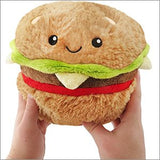 "Squishable Mini Hamburger - 7"" Plush"