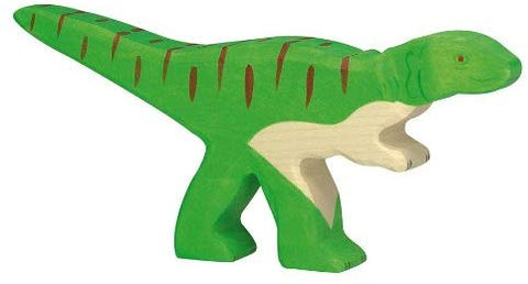 Holztiger Allosaurus Toy Figure