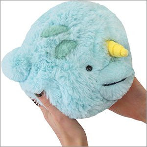"Squishable Mini Narwhal - 7"" Plush"