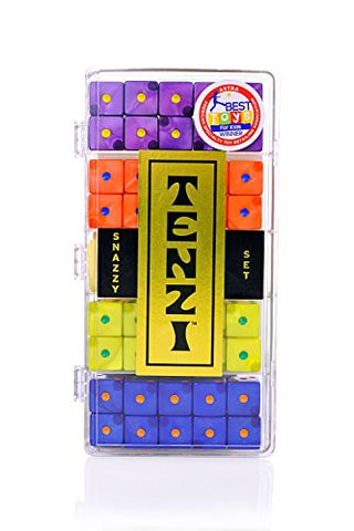 Tenzi Snazzy Set Dice Game - Colors May Vary