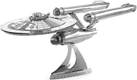 Metal Earth 3D Metal Model Kits - Star Trek U.S.S. Enterprise NCC-1701 (2 Sheets)