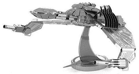 Fascinations Metal Earth 3D Metal Model Kits - Star Trek Klingon Bird-of-Prey (2 Sheets)