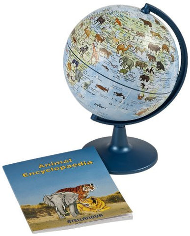 "Stellanova World of Animals 6"" Globe"