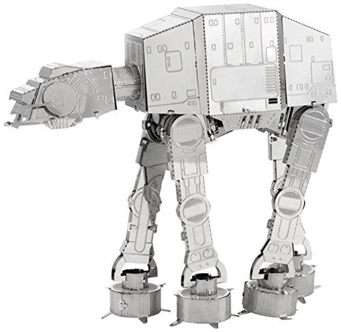 Fascinations Metal Earth 3D Metal Model Kits - Star Wars AT-AT (2 Sheets)