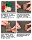 WoolPets Intermediate Needle Felting Kit - Gnome