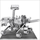 Set of 4 Metal Earth 3D Laser Cut Models: Hubble Telescope - Apollo Lunar Rover - Apollo Lunar Module - Mars Rover