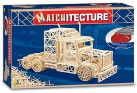 Bojeux Matchitecture Wood Microbeam Construction Set - Big Rig
