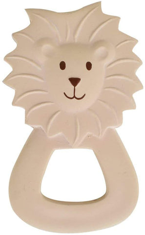 Tikiri My First Safari Natural Rubber Teether - Lion