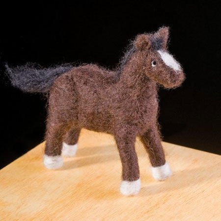 WoolPets Intermediate Needle Felting Kit - Pony