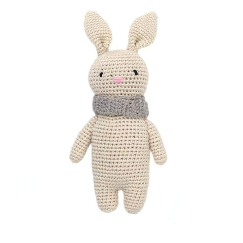 Cheengoo Organic Bamboo Hand Crocheted Mini Doll - Bailey the Bunny