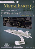 Fascinations Metal Earth F-35A Lightning II Airplane 3D