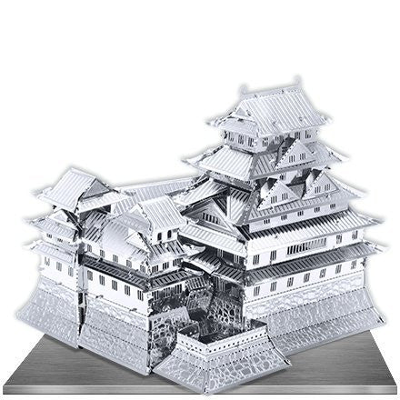 Metal Earth 3D Laser Cut Model Gold Edition - Himeji Castle (3 Sheets)