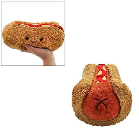 "Squishable Comfort Food Hot Dog - 9"" Plush"