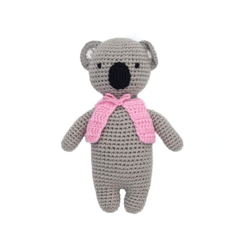 Cheengoo Organic Bamboo Hand Crocheted Mini Doll - Kayla the Koala